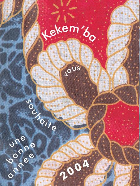carte de voeux K