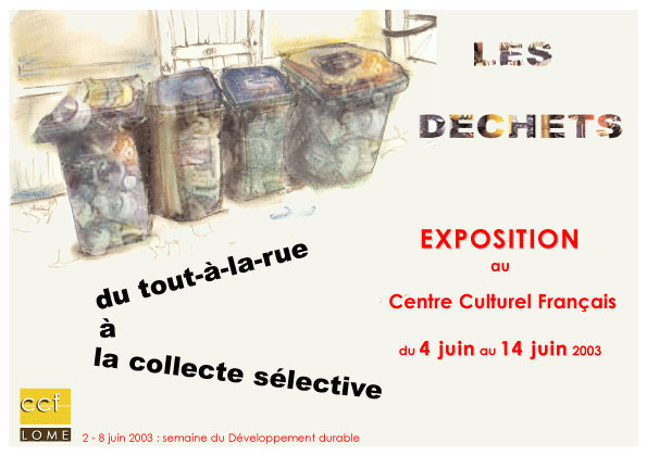 Exposition sur les déchets