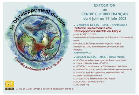 Exposition Recherche et Développement durable