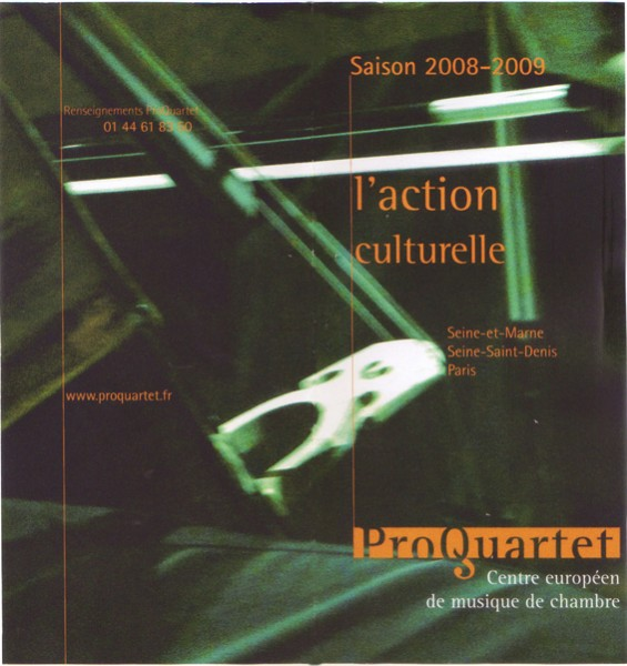Action culturelle 2009.