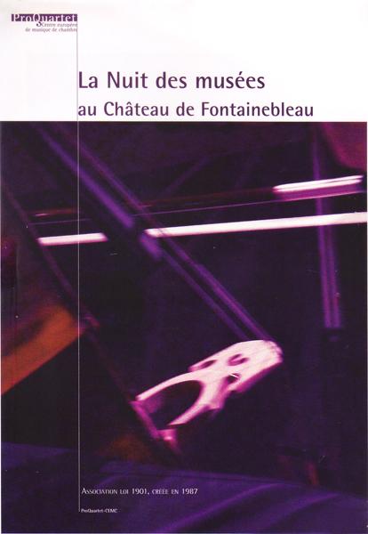 La nuit des musée au Château de Fontainebleau